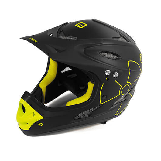 casco fall out vista laterale